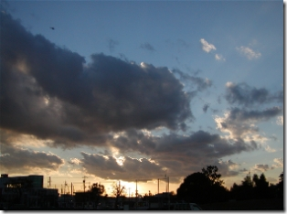 2006-11-15の夕空